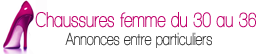 Site d'annonces de chaussures en petites pointures pour femmes